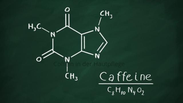 Anti-Aging Wirkstoff Coffein.
